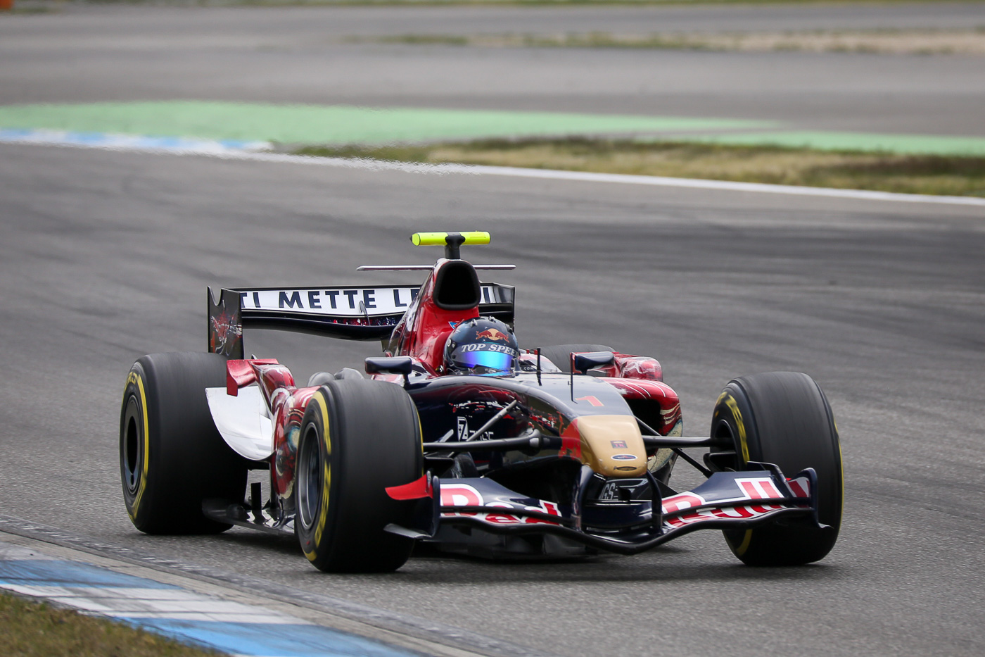 Ingo Gerstl racing a fabulous time during qualifying in Hockenheim 2017.