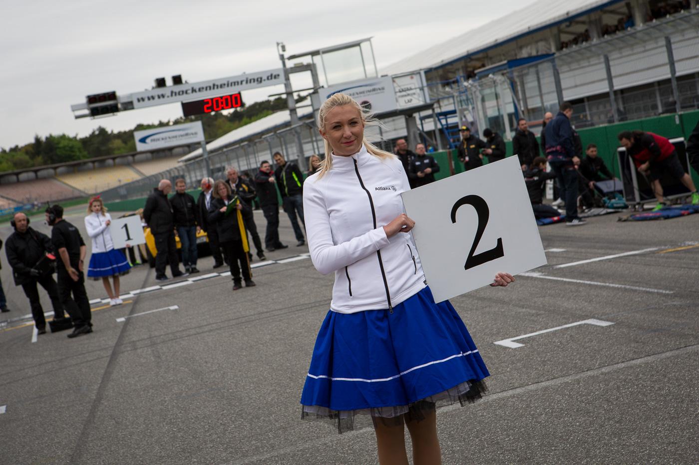 Starting grid for race 2 in Hockenheim is set.