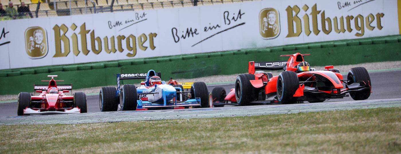 First race of the season 2017 on Hockenheimring.