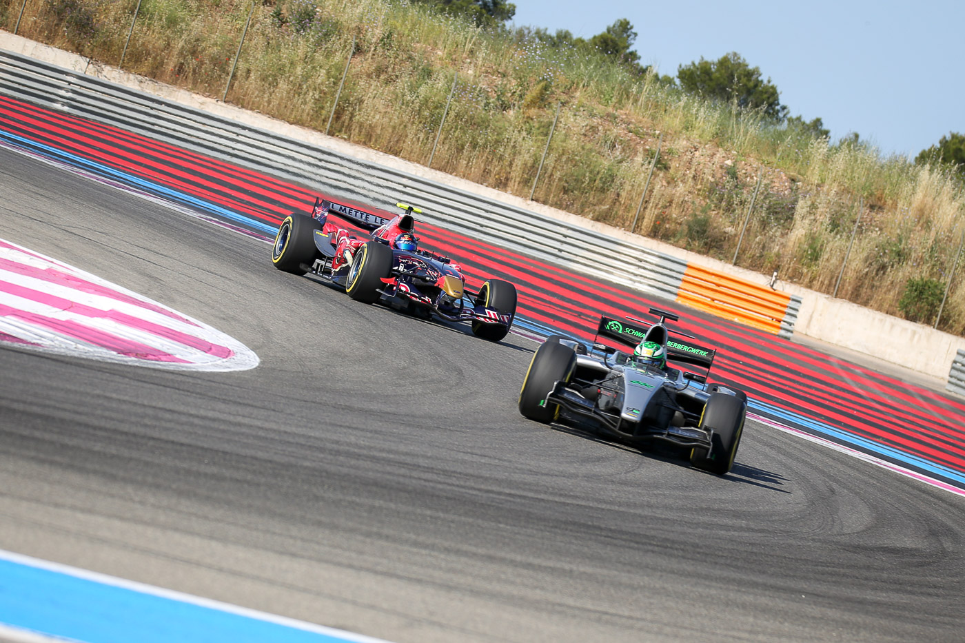 Qualifying at Paul Ricard 2017.