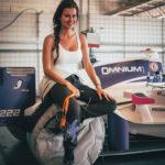 Fastest woman of BOSS GP