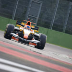 Rinus van Kalmthout on track in Imola 2017.