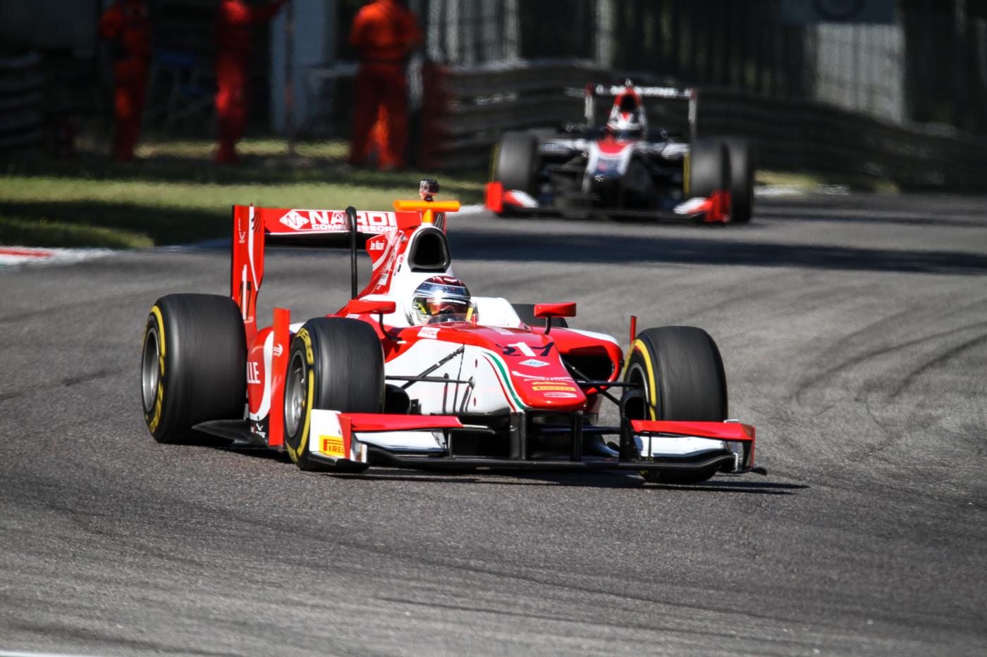 Marco Ghiotto, winner in Monza 2018