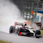 Alessandro Bracalente, Speed Center Dallara GP2 skipping through the rain
