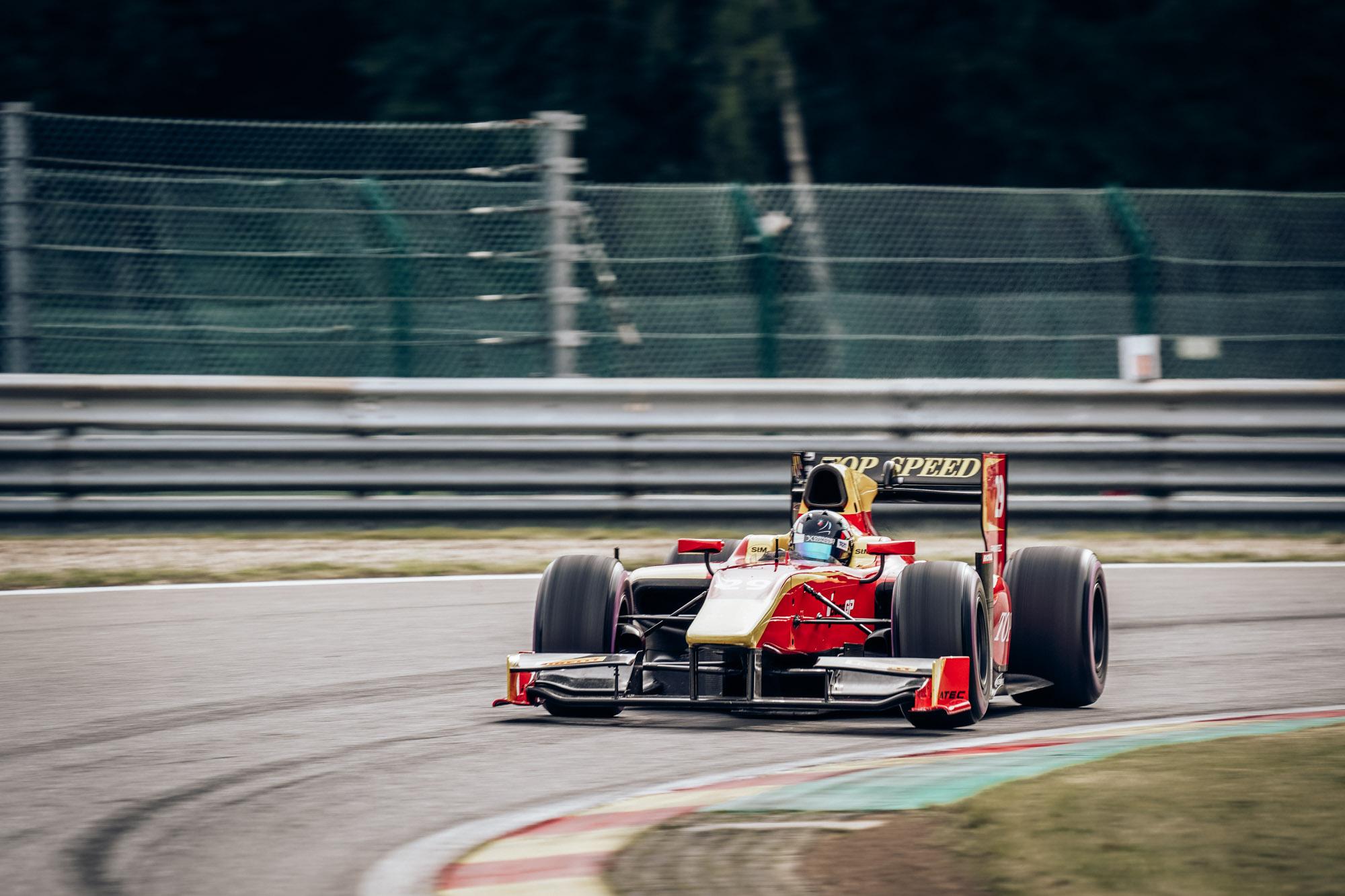 FORMULA pole for Marc Faggionato